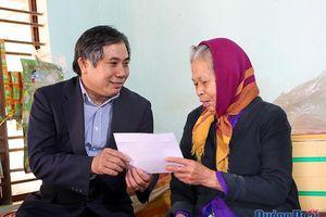 Lãnh đạo tỉnh thăm, chúc Tết các gia đình chính sách, hộ nghèo trên địa bàn tỉnh