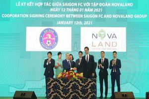 Novaland tài trợ cho CLB Sài Gòn FC