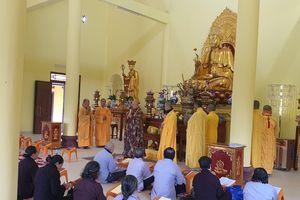 Quảng Bình: An vị tôn tượng Phật chùa Kim Nại