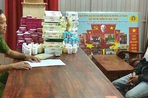 Công an Đồng Tháp bắt số lượng lớn thuốc tân dược nhập lậu