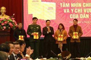 Ra mắt cuốn sách của Tổng Bí thư, Chủ tịch nước Nguyễn Phú Trọng