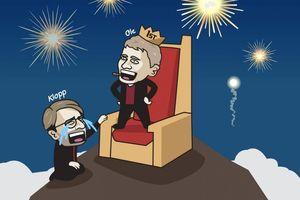 Biếm họa 24h: Điềm báo MU vô địch Premier League mùa này?