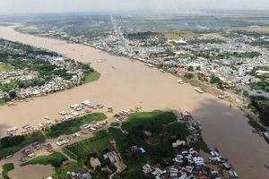 Nước mặn có thể xâm nhập các cửa sông Cửu Long vào dịp Tết Tân Sửu