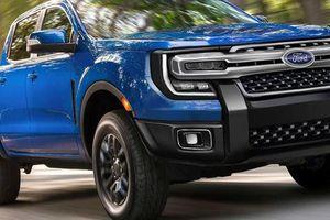 Ford Ranger thế hệ mới lần đầu lộ diện trên đường thử với đầu vuông vức hầm hố như F-150