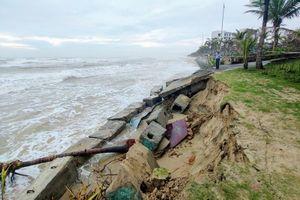 Bờ biển Mỹ Khê xói lở nghiêm trọng, Đà Nẵng nói gì?