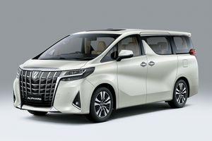 Toyota Alphard 2021 được ra mắt tại Việt Nam, giá từ 4,22 tỷ đồng