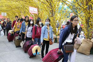Một trường đại học ở TP.HCM cho sinh viên nghỉ Tết 49 ngày