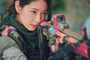 Tạo hình chiến binh từ tương lai của Park Shin Hye trong phim mới