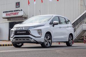 Mitsubishi Xpander có doanh số cao nhất nhóm MPV 7 chỗ trong năm 2020