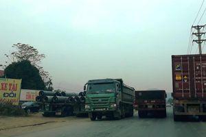 Rủi ro tai nạn giao thông, ô nhiễm tại một cung đường