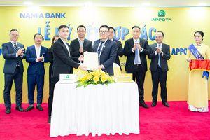 AppotaPay và Nam A Bank hợp tác cung cấp giải pháp tài chính điện tử