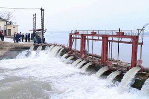 Hà Nội gia tăng vận hành trạm bơm lấy nước vụ Xuân 2021