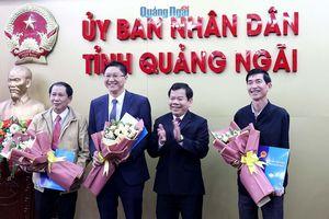 UBND tỉnh Quảng Ngãi điều động, tiếp nhận, bổ nhiệm cán bộ