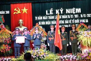 Sư đoàn 390, Quân đoàn 1 đón nhận Huân chương bảo vệ Tổ quốc hạng Ba