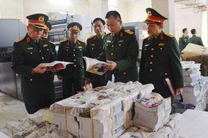 Thượng tướng Nguyễn Trọng Nghĩa thăm, kiểm tra một số đơn vị thuộc Tổng cục Chính trị