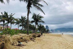 Công bố nguyên nhân sạt lở bờ biển Đà Nẵng