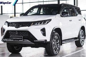 Toyota Fortuner 2022 sẽ có động cơ hybrid, công nghệ an toàn hơn