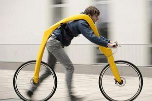 Xe đạp cho người đi bộ và những phát minh 'siêu' ngốc nghếch