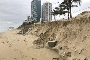 Đà Nẵng: 6 khu vực bờ biển bị xói lở