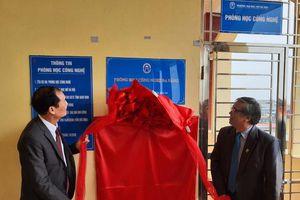 Trường ĐH Mở Hà Nội khánh thành phòng học công nghệ đa năng