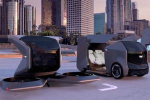 Công ty General Motors trình làng mẫu xe bay