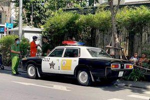 Xôn xao hình ảnh 'xe cảnh sát Mỹ xuất hiện ở Việt Nam': Công an TP.HCM nói gì?