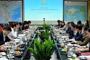 Họp tổng kết Ban Chỉ đạo Ngoại giao Kinh tế năm 2020