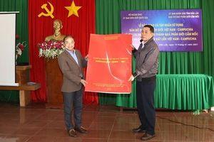 Đắk Lắk: Bàn giao và tập huấn sử dụng bản đồ địa hình biên giới Việt Nam - Campuchia