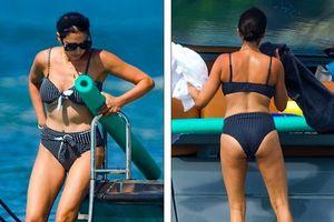 Bà xã của Simon Cowel mặc bikini phô dáng đẹp ngỡ ngàng ở tuổi U50