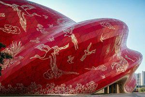 Công trình bị chê 'xấu nhất Trung Quốc' được ví như chiếc chăn bông cỡ lớn