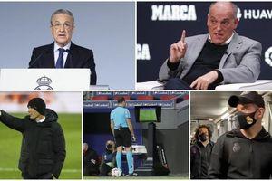 Chủ tịch La Liga nhạo Zidane 'bào chữa' Real Madrid đá kém