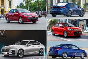Sedan bán chạy nhất tháng 12/2020: Mazda 3 bị bật top 5