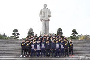 Sông Lam Nghệ An xuất quân V.League 2021 trong lặng lẽ