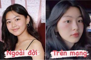 Sao Việt bị so sánh nhan sắc khi sử dụng app chỉnh ảnh với ngoài đời thực