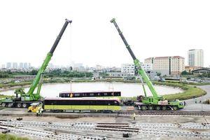 Người dân sắp được tham quan đoàn tàu tuyến metro Nhổn-ga Hà Nội