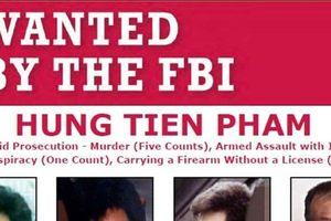 FBI 'treo giải' 30.000 USD để bắt kẻ xả súng khiến 5 người tử vong