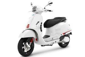 Vespa GTS Super Sport 300 HPE 2021 thêm màu trắng Innocenza mới, giá bán 166 triệu đồng