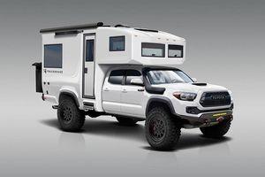 TruckHouse Toyota Tacoma: Chiếc du thuyền thám hiểm mini trên đất liền