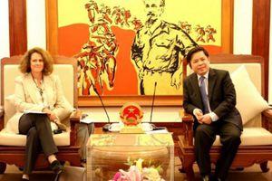 WB mong muốn hợp tác với Việt Nam tại các dự án GTVT xuyên biên giới
