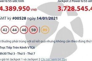 Xổ số Vietlott 14/1/2021: Tìm người may mắn trúng hơn 35 tỷ đồng