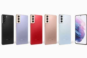 Lộ diện 5 màu sắc sẽ có trên Galaxy S21 Plus và Galaxy S21 Ultra