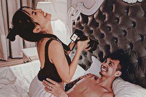 Đại gia Minh Nhựa tung ảnh 'giường chiếu', tiết lộ phản ứng kì lạ của vợ