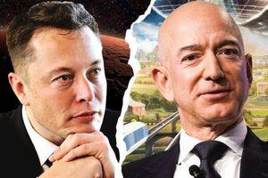 Elon Musk lại mất danh hiệu người giàu nhất thế giới về tay Jeff Bezos