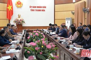 Chủ tịch UBND tỉnh Đỗ Minh Tuấn tiếp và làm việc với Đoàn công tác của Tập đoàn Foxconn Việt Nam