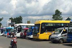 Phụ thu tối đa 60% giá cước vận tải xe khách dịp Tết