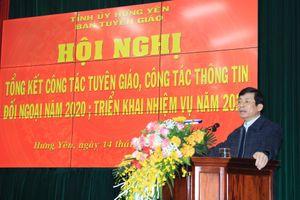 Hưng Yên: Công tác tuyên giáo tạo sự đồng thuận trong nhân dân