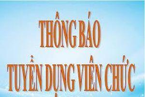 Thời báo Tài chính Việt Nam thông báo tuyển dụng viên chức
