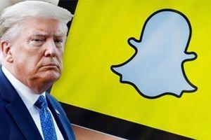 Đến lượt Snapchat nói không với Tổng thống Trump