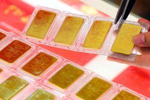 Giá vàng SJC sụt giảm khi giá vàng thế giới tăng