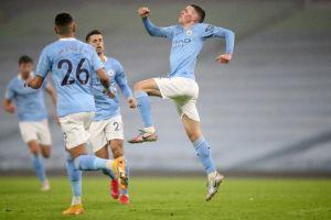 Thắng nhẹ Brighton, Man City vào top 3 Ngoại hạng Anh